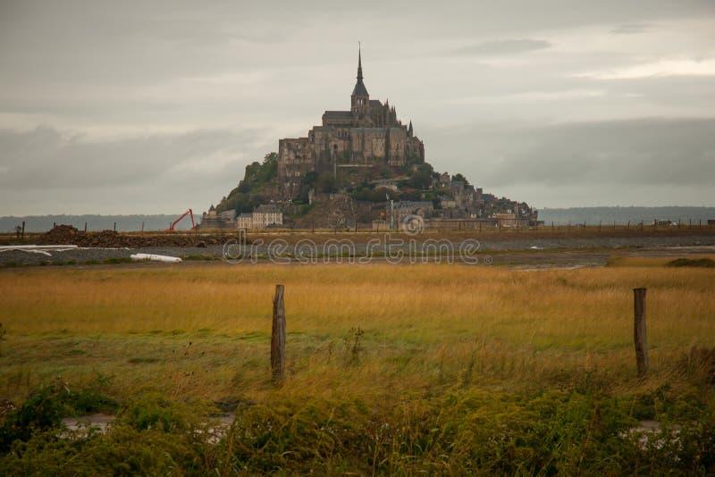 Le Mont-San-Michel fotografie stock