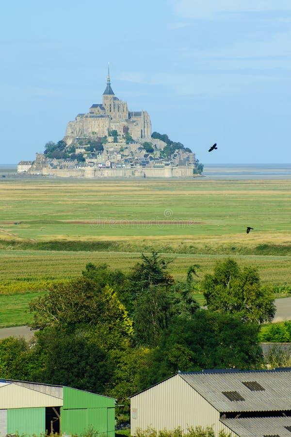 Le Mont-San-Michel fotografia stock libera da diritti