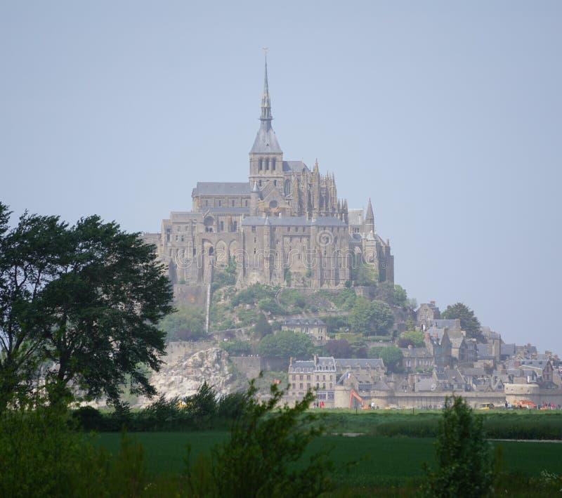 Le Mont-San-Michel Francia fotografie stock libere da diritti