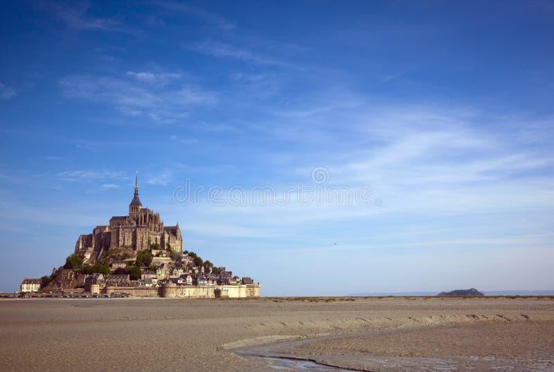 Le Mont-St-Michel stock image
