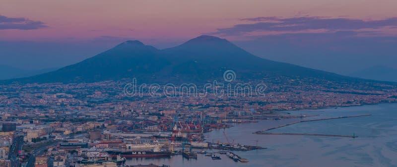 Le mont Vésuve II image libre de droits