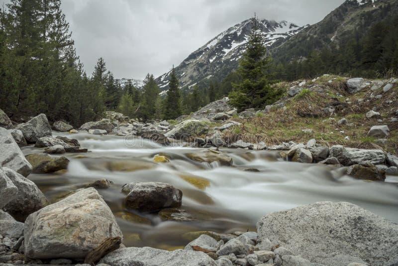 Le montagne di Pirin fotografia stock libera da diritti