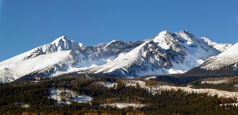 Le montagne di Tatra immagini stock