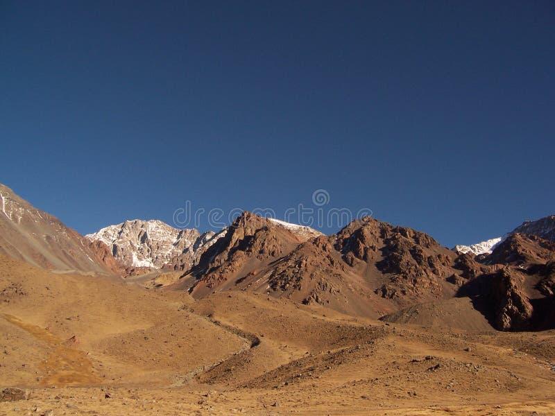 Le montagne di Vallecitofotografie stock libere da diritti