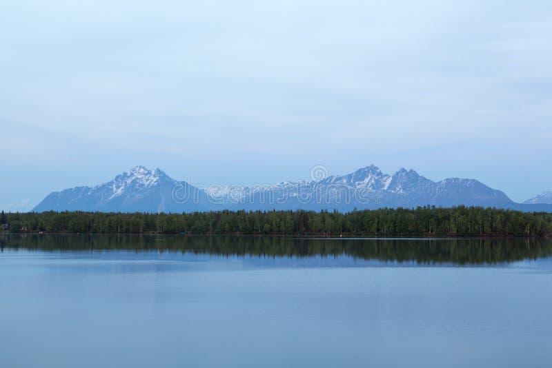 Le montagne di Wasilla immagine stock libera da diritti
