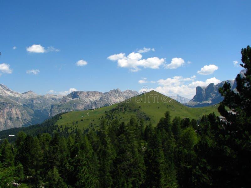 Le montagne hanno chiamato Dolomite in Italia immagini stock