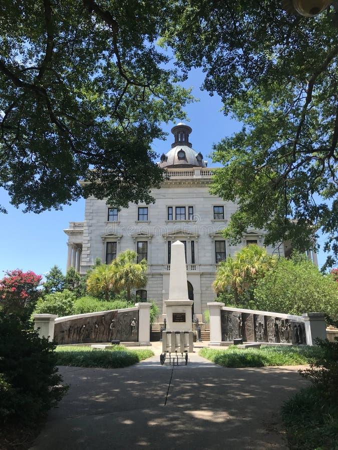Le monument d'histoire d'Afro-américain en raison de Carolina State House du sud photo stock