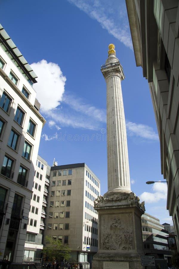 Le monument de Londres images libres de droits