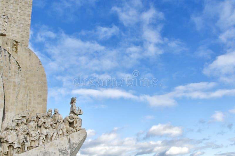 Le monument du découvreur, Lisbonne, Portugal image stock
