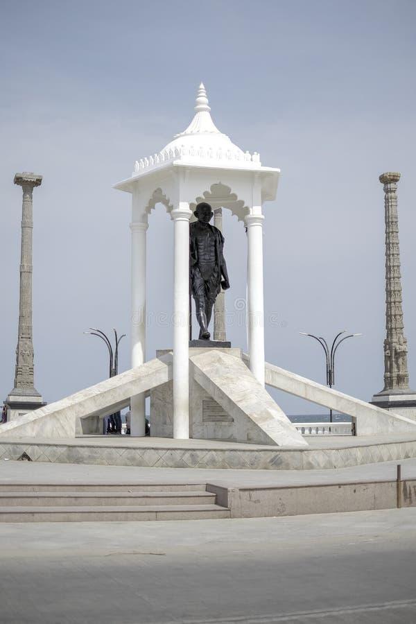 Le monument du ` s de Mahatma Gandhi image stock