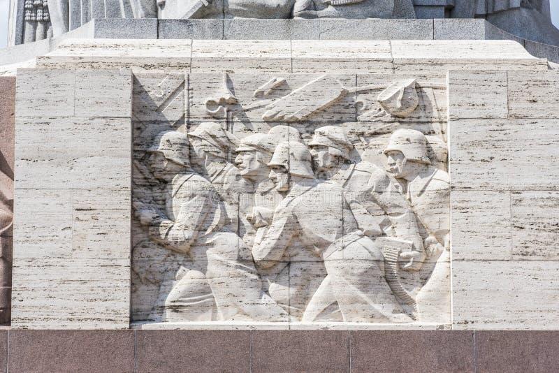 Le monument Riga de liberté photos libres de droits