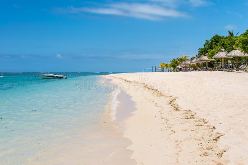 Le Morne Beach,毛里求斯 库存图片