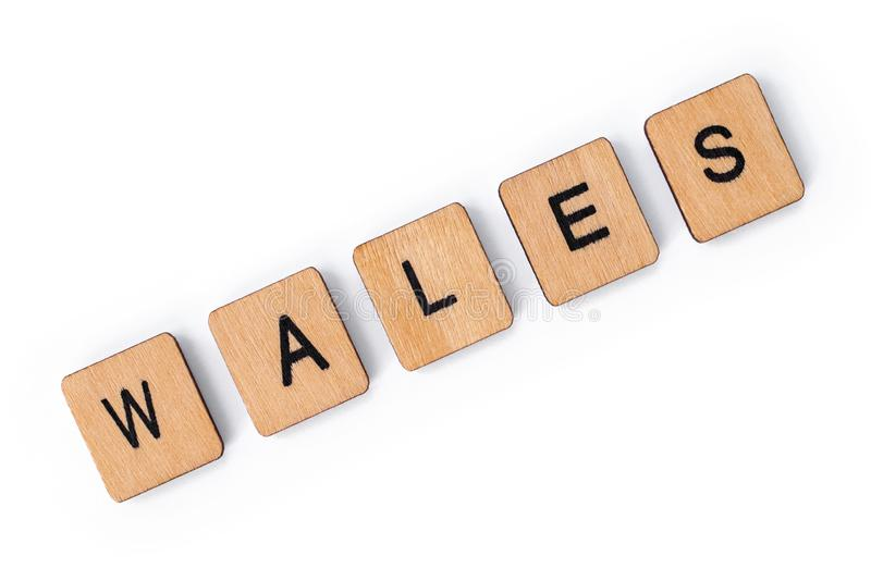 Le mot WALES photos libres de droits