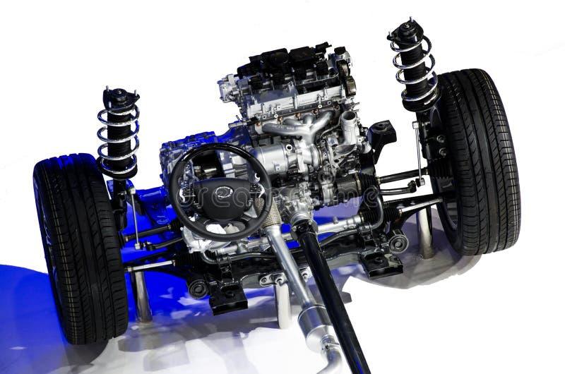 Le moteur de véhicule photographie stock libre de droits