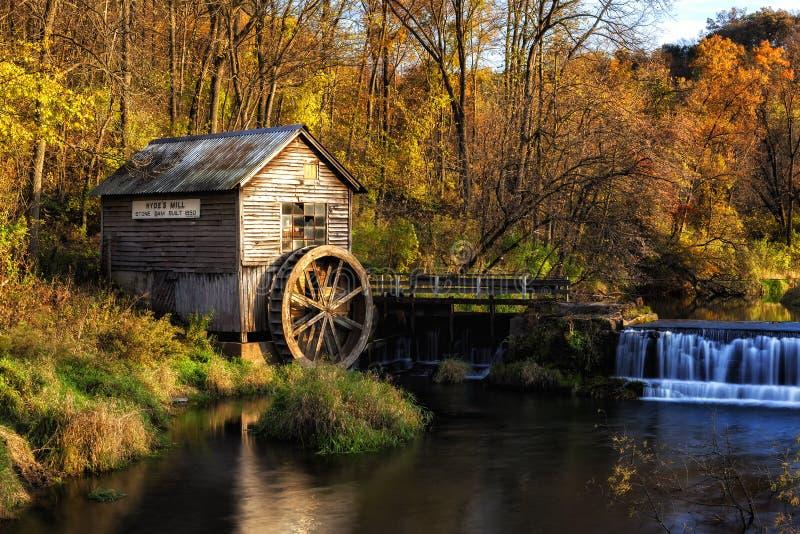 Le moulin de Hyde photographie stock