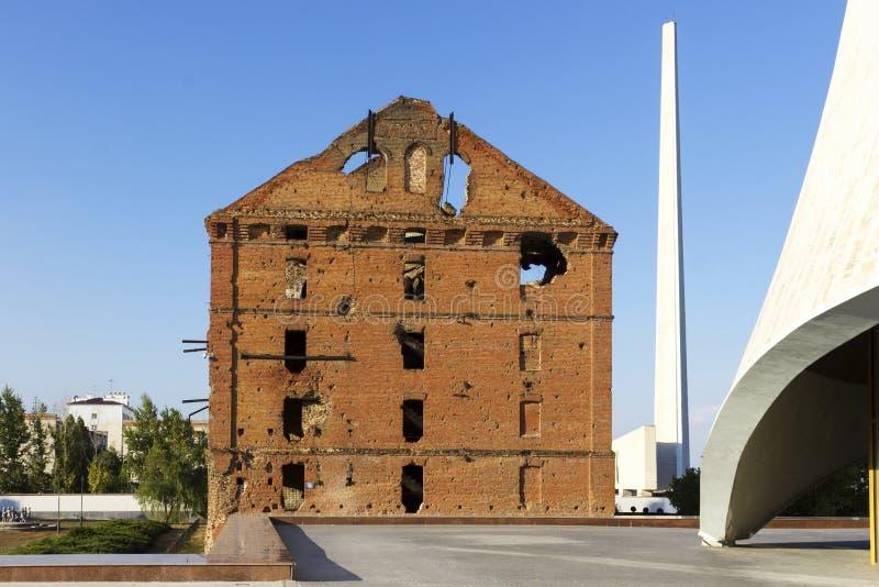 Le moulin Gerhardt Volgograd, Russie photos libres de droits