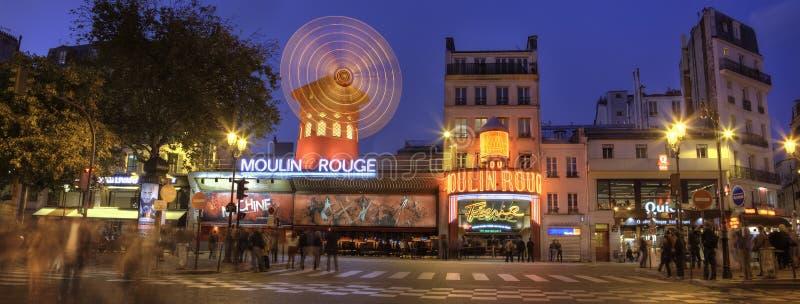 Download Le Moulin Rouge, Paris Par Panorama De Nuit Image éditorial - Image du nuit, capital: 45355865