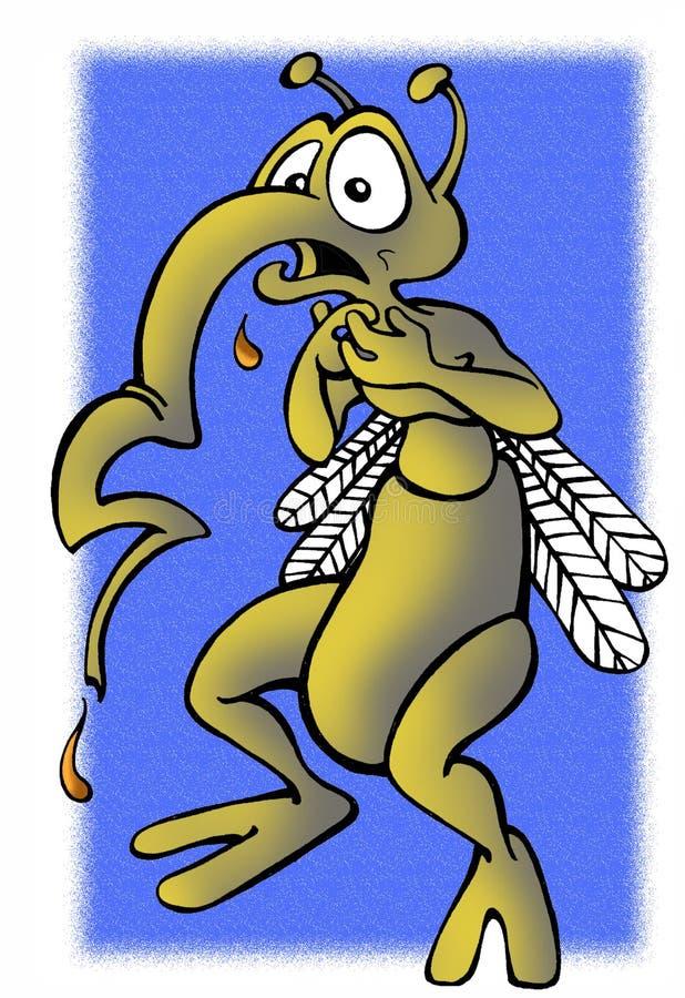 Le moustique illustration de vecteur