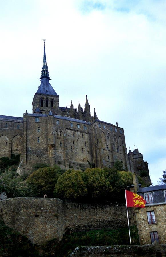 Le Mt. St. Michel imagem de stock