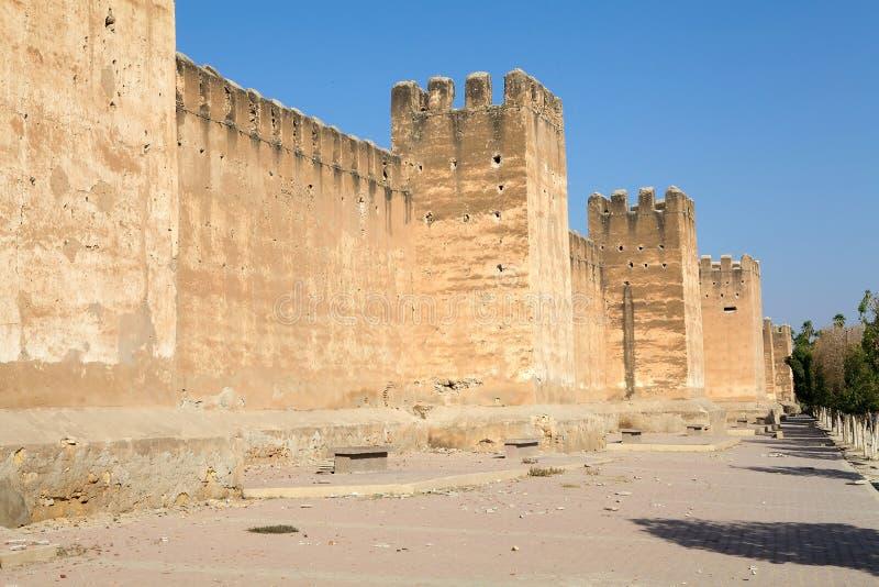Le mur défensif de Taroudant photos libres de droits