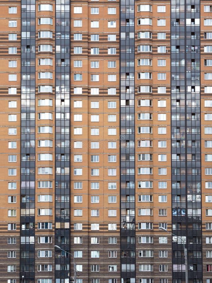 Le mur d'un immeuble photographie stock libre de droits
