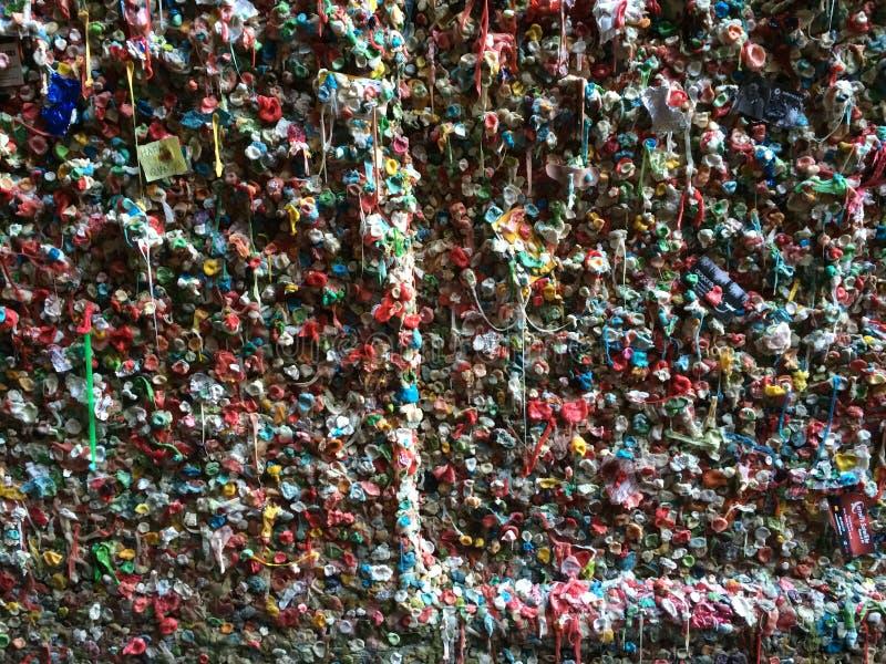 Le mur de gomme images stock