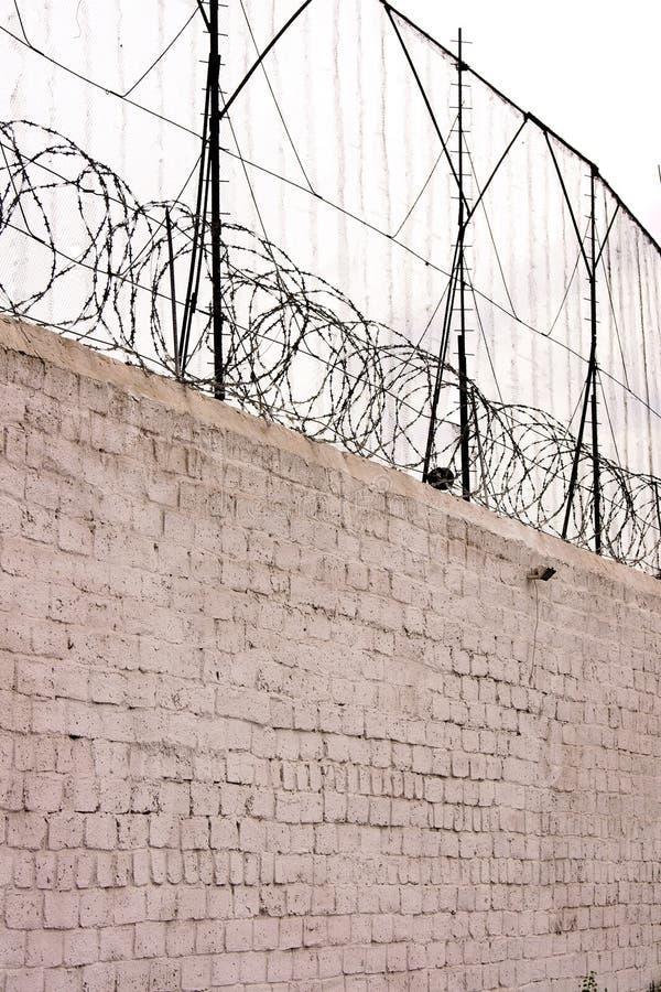 Le mur de la prison photos libres de droits