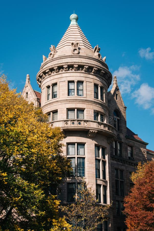Le musée américain de l'histoire naturelle, dans l'Upper West Side, Manhattan, New York City images stock