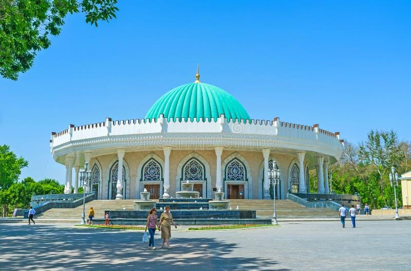 Le musée d'Amir Timur image libre de droits