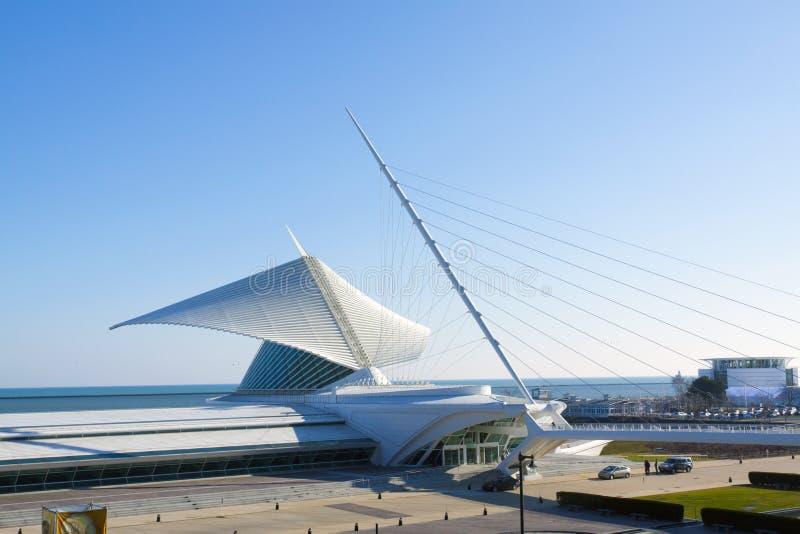 Le Musée d'Art de Milwaukee photos stock