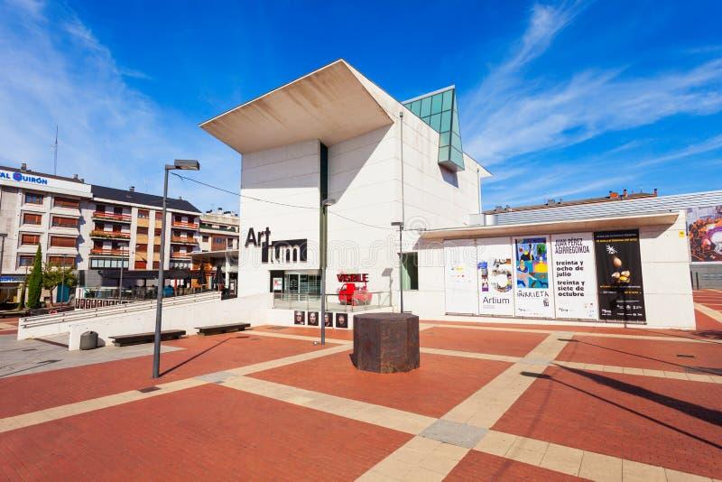 Le musée d'Artium dans Vitoria-Gasteiz images libres de droits