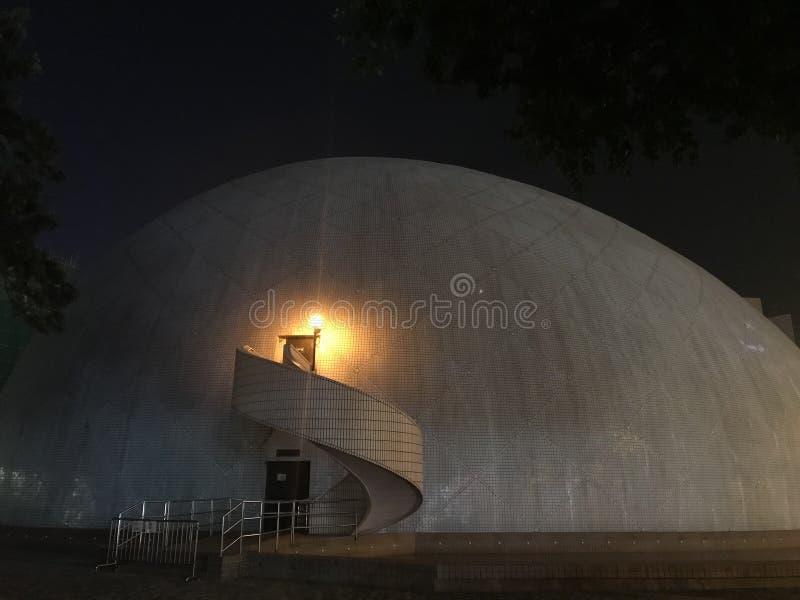Le musée d'espace, Tsimshatsui, péninsule de Kowloon image stock
