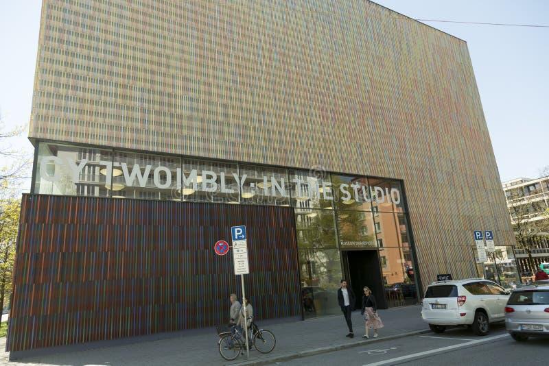 Le musée de Brandhorst, Munich, Allemagne image stock