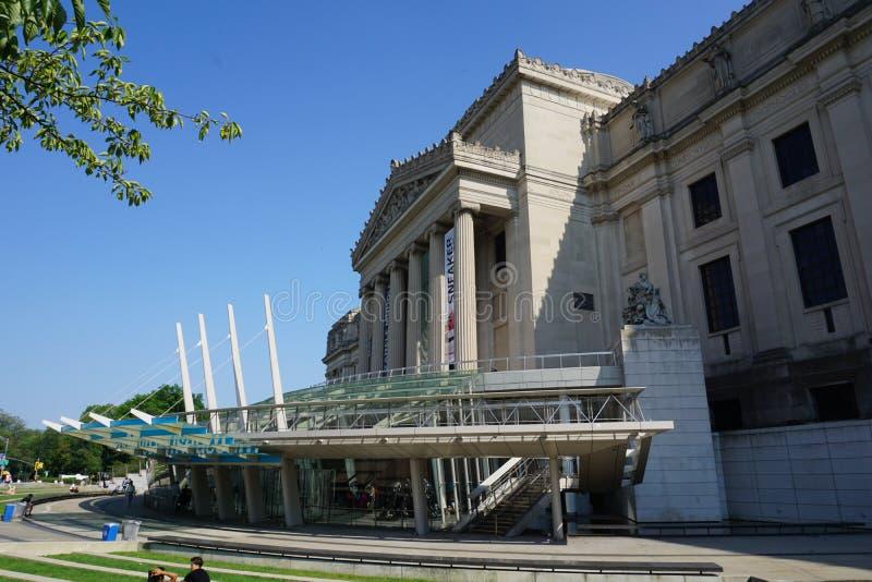 Le musée 1 de Brooklyn photo libre de droits