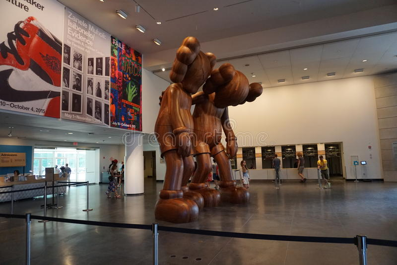 Le musée 19 de Brooklyn photo stock