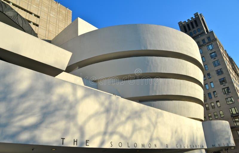 Le musée de Guggenheim, NYC images libres de droits