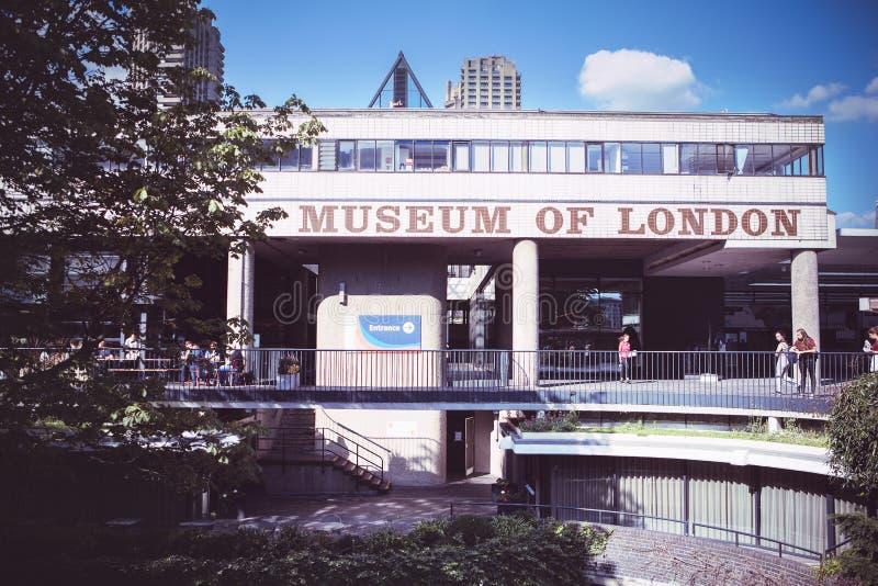Le musée de Londres documente l'histoire de préhistorique à images libres de droits