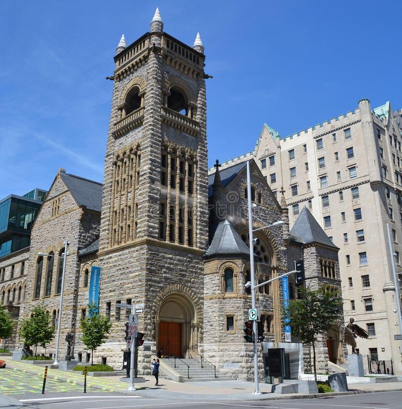 Le musée de Montréal des beaux-arts photographie stock libre de droits