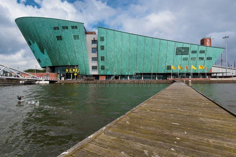Le musée de Nemo à Amsterdam photo stock