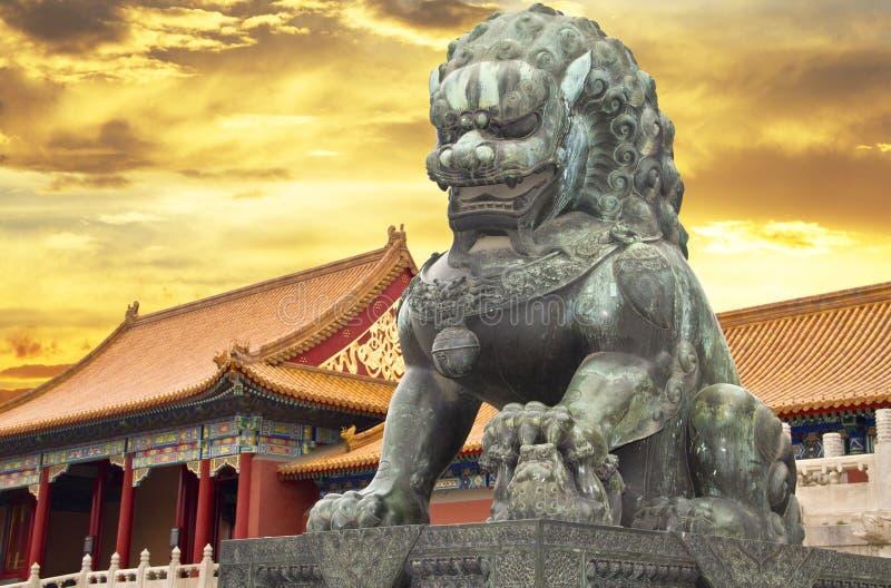 Le musée de palais dans la ville interdite photo libre de droits