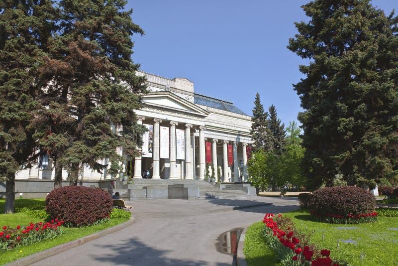 Le musée de Pushkin des beaux-arts à Moscou photographie stock