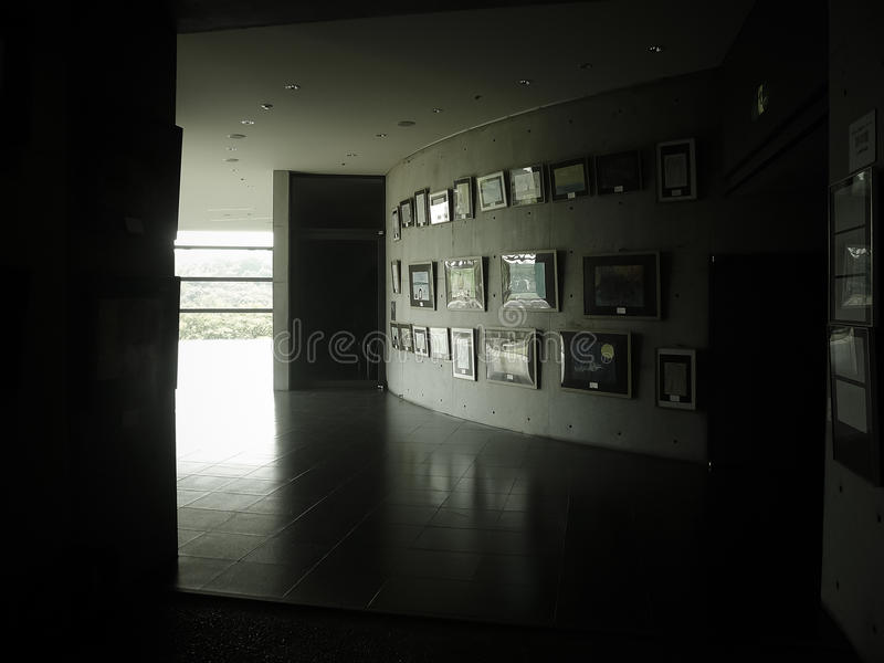 Le Musée De Tadao Ando Image stock
