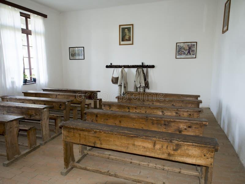 Le musée de village du comté de Valcea photographie stock libre de droits