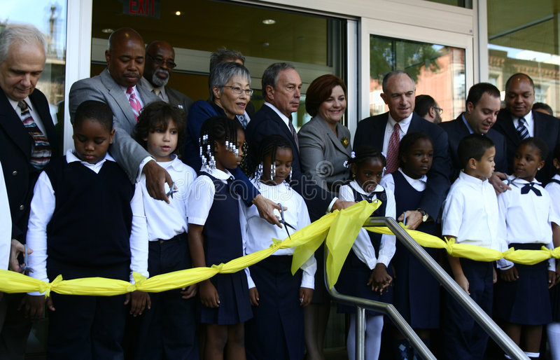 Le musée des enfants de Brooklyn s'ouvre photo libre de droits