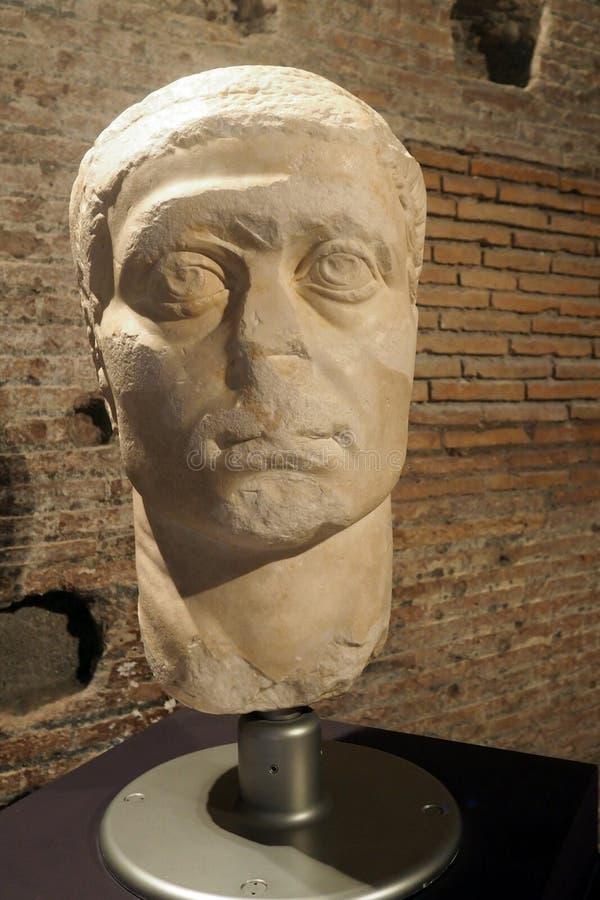 Le musée des forum impériaux à Rome, Italie photographie stock libre de droits