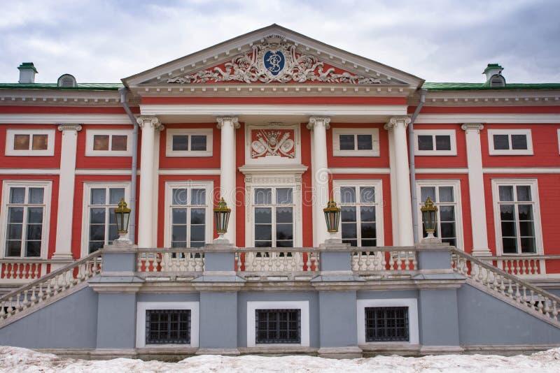 Le musée-domaine Kuskovo images libres de droits