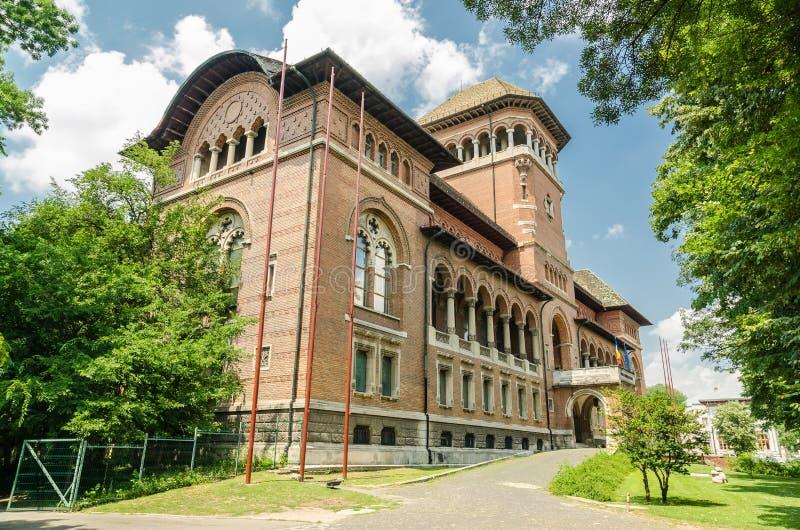 Le musée du paysan roumain photo stock