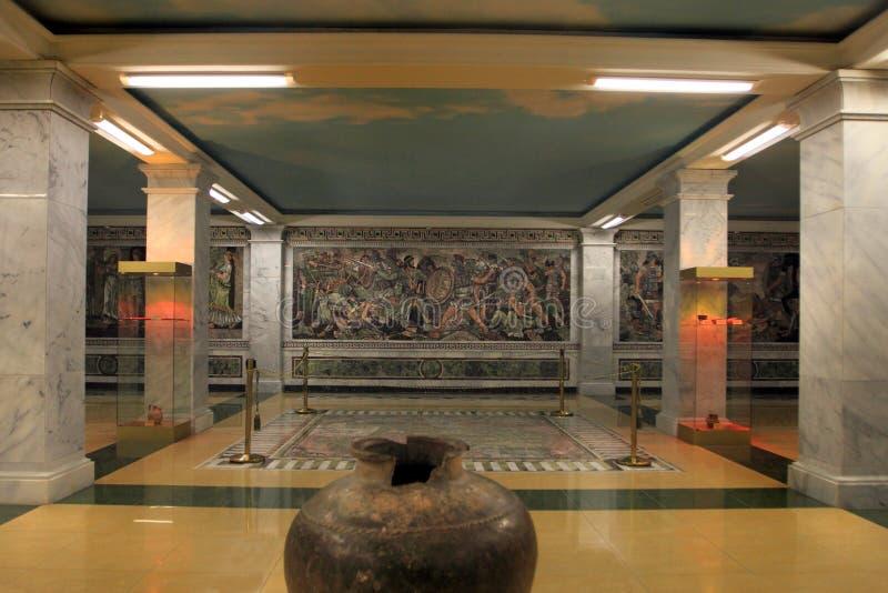 Le musée historique de Sughd dans la ville de Khujand, le Tadjikistan photos stock