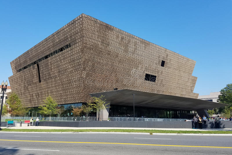 Le Musée National de l'histoire et de la culture d'Afro-américain photographie stock