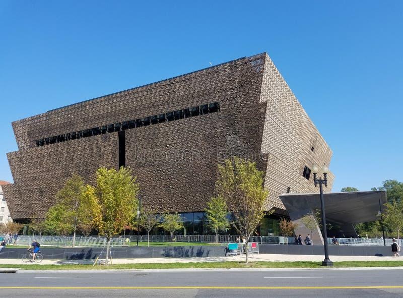 Le Musée National de l'histoire et de la culture d'Afro-américain photos stock